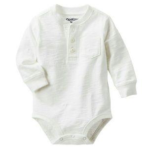 Oshkosh white bodysuit